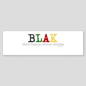 Blak Bumper Sticker