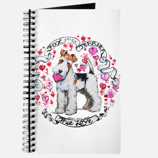 Fox Terrier Sweetheart Journal