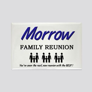 Morrow Family Reunion Rectangle Magnet