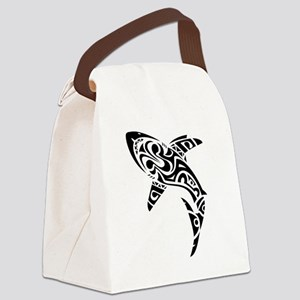 Shark Tattoo design Canvas Lunch Bag