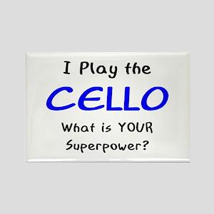 play cello Rectangle Magnet