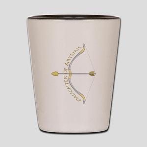 Daughter of Artemis Shot Glass