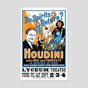 HOUDINI SPIRITS poster 11x17