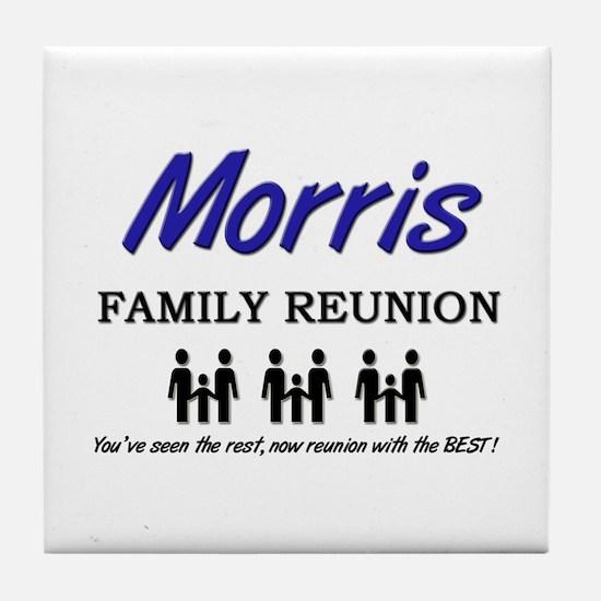 Morris Family Reunion Tile Coaster