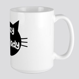 Crazy Cat Lady Large Mug