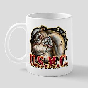 U.S.M.C. Dog Mug
