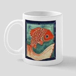 auspicious fish Mug