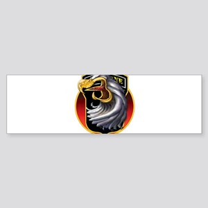Screamin' Eagles Badge Bumper Sticker