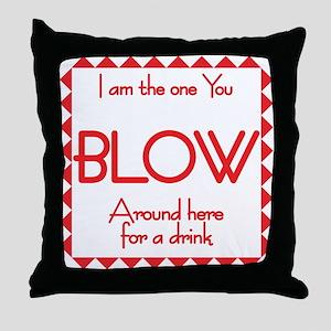 Bartenders Throw Pillow