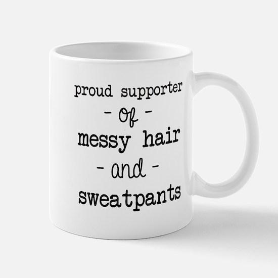 Messy Hair & Sweats Mugs