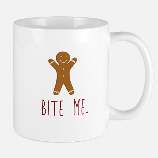 Grouchy Gingerbread Mugs