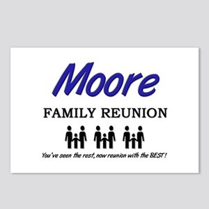 Moore Family Reunion Postcards (Package of 8)