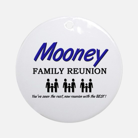 Mooney Family Reunion Ornament (Round)
