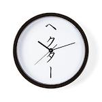 Katakana name for Hector Wall Clock