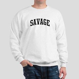 SAVAGE (curve-black) Sweatshirt