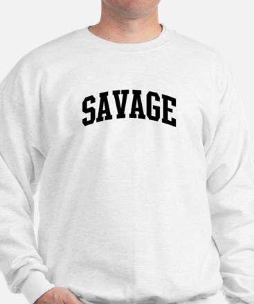 SAVAGE (curve-black) Sweatshirt