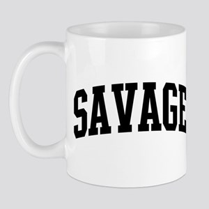 SAVAGE (curve-black) Mug