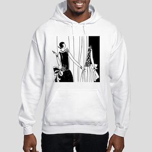 1920s vintage flappers black whi Hooded Sweatshirt