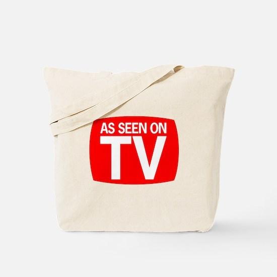 Cute Seen tv Tote Bag