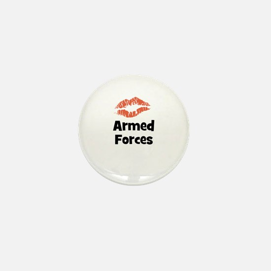 Armed Forces Mini Button