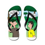 Tent Pitching Flip Flops