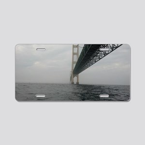 Underneath the Bridge Aluminum License Plate