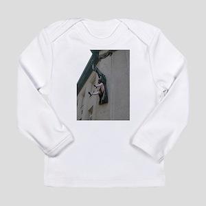 woman upskirt art sculpture Long Sleeve T-Shirt
