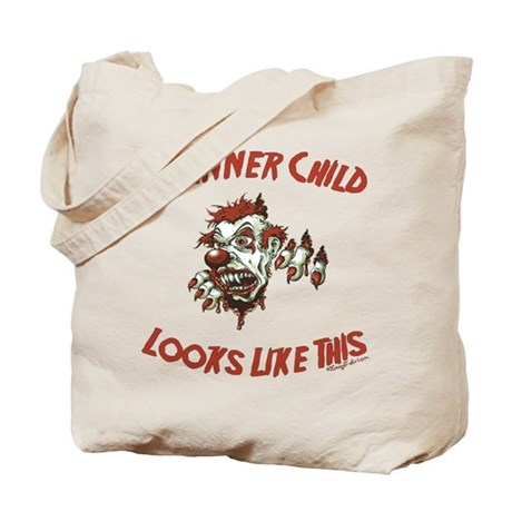 My Inner Child Looks Like This Tote Bag