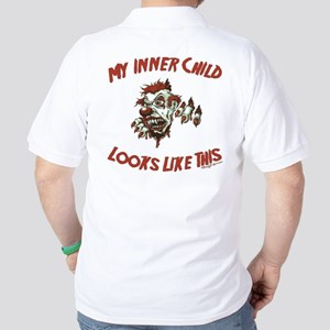 My Inner Child Looks Like This Golf Shirt