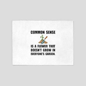 Common Sense Garden 5'x7'Area Rug