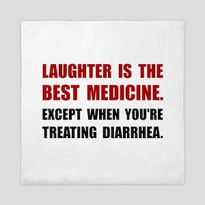 Laughter Diarrhea Queen Duvet