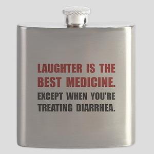 Laughter Diarrhea Flask