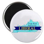 True Blue Kentucky LIBERAL Magnet