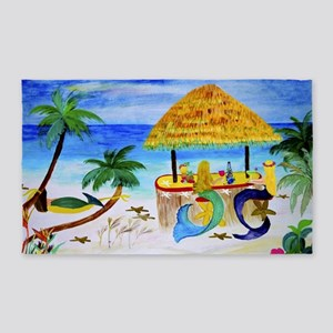 Mermaids Beach Bar Area Rug
