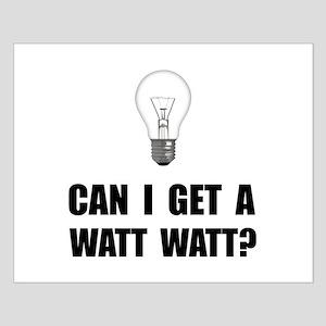 Watt Watt Light Bulb Posters