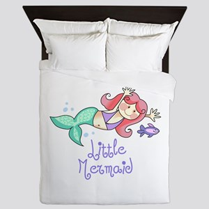 LITTLE MERMAID Queen Duvet