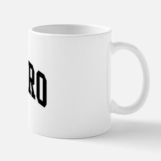 GUERRERO (curve-black) Mug