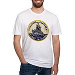 USS FLETCHER Fitted T-Shirt