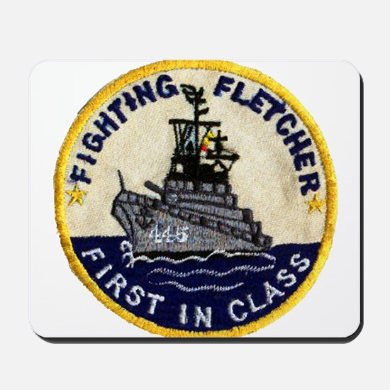 USS FLETCHER Mousepad