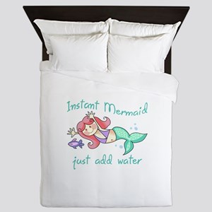 INSTANT MERMAID Queen Duvet