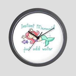 INSTANT MERMAID Wall Clock