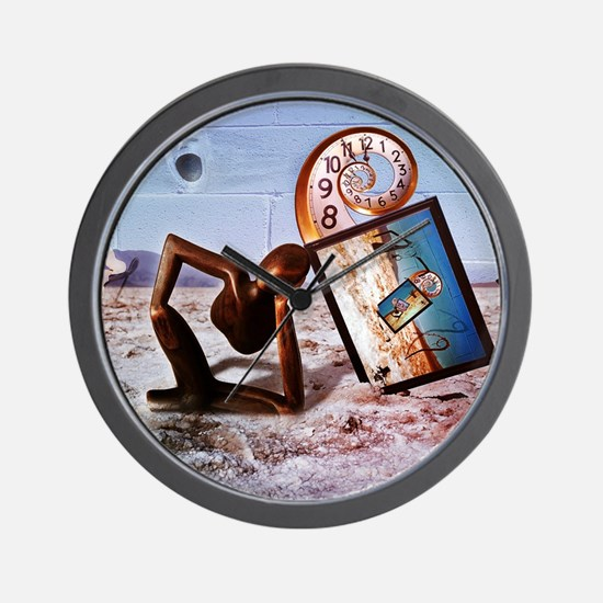 Unique Face time Wall Clock