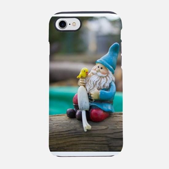 Mushroom Gnome iPhone 7 Tough Case