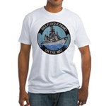 USS FLOYD B. PARKS Fitted T-Shirt