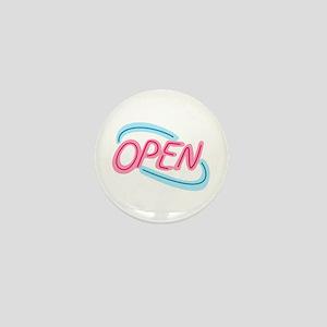 NEON OPEN SIGN Mini Button