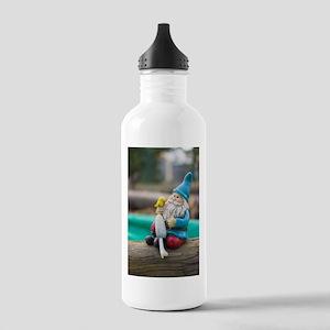 Mushroom Gnome Stainless Water Bottle 1.0L