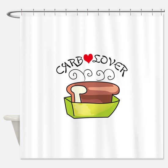 CARB LOVER Shower Curtain