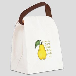 GROW A PEAR Canvas Lunch Bag