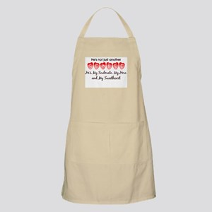 He's not just another Seabee. BBQ Apron