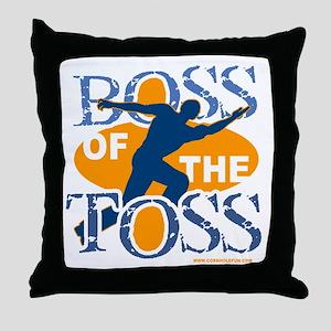 Boss Male Throw Pillow